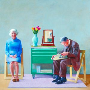 My Parents 1977 David Hockney  http://www.tate.org.uk/art/work/T03255