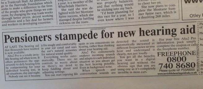 pensioners stampede