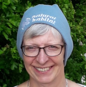 Vera in blue hat 2