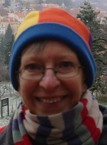 Vera in woolly hat