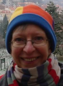 Vera in woolly hat